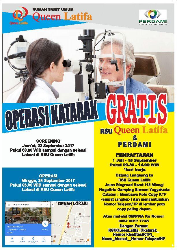 Operasi katarak RSU Queen Latifa
